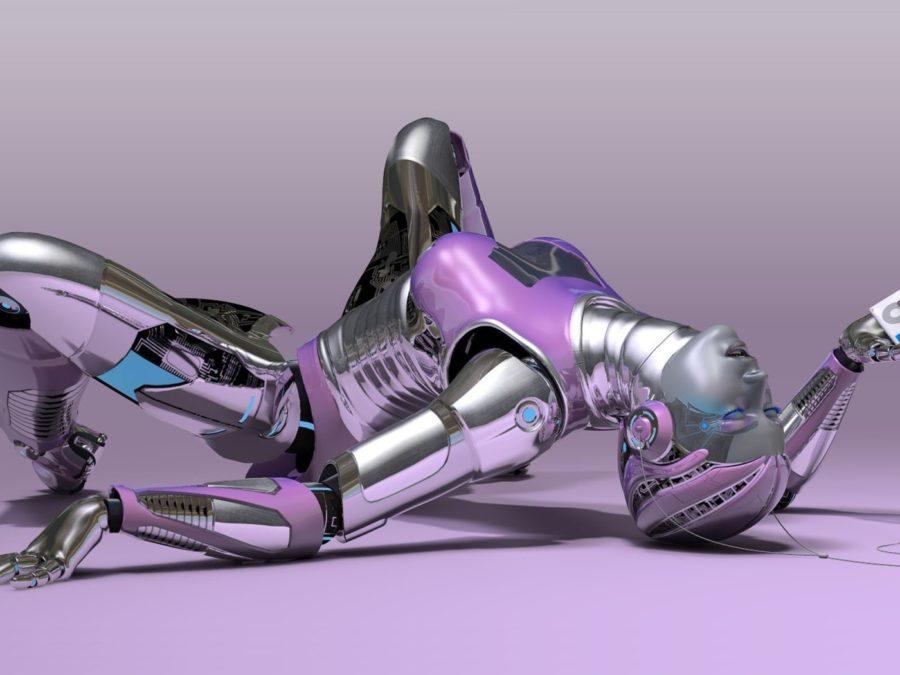Роботы заменят человека в сексе