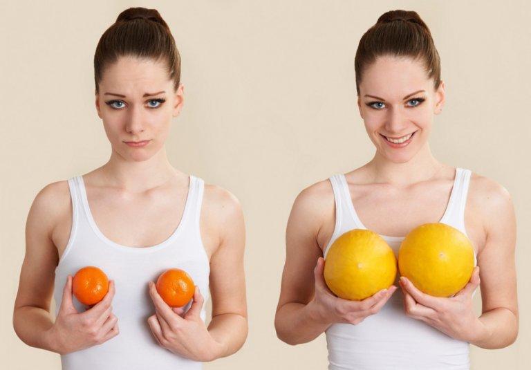 Почему девушки хотят увеличить грудь
