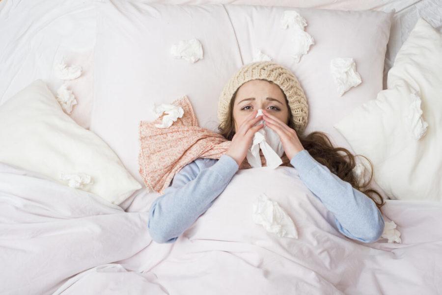 Секс лечит простуду