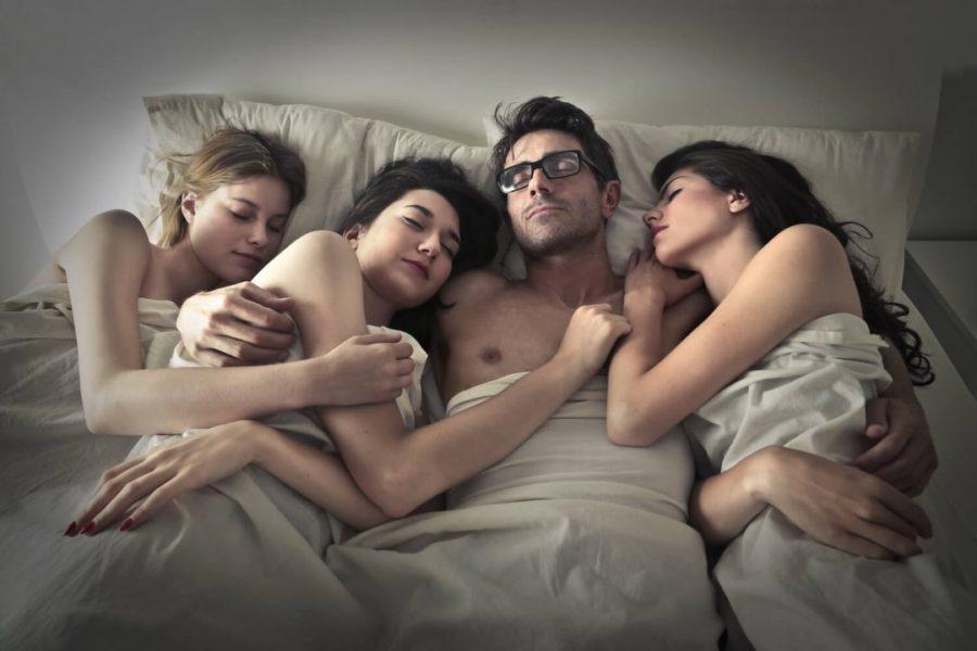 Горячий групповой секс