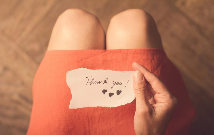 Почему необходимо благодарить любимого человека