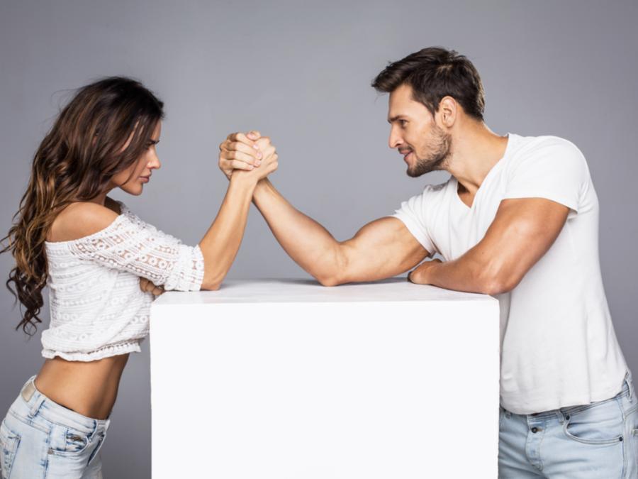 Сильное влияние девушки на мужчину