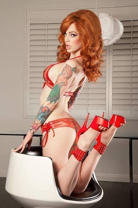ТОП - 300 самых красивых девушек с татуировками