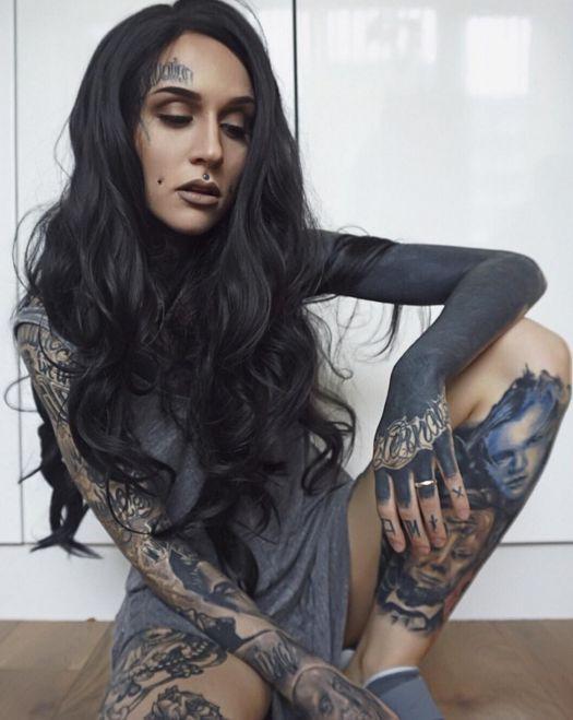 Самые красивые женские татуировки. ТОП-100 ФОТО