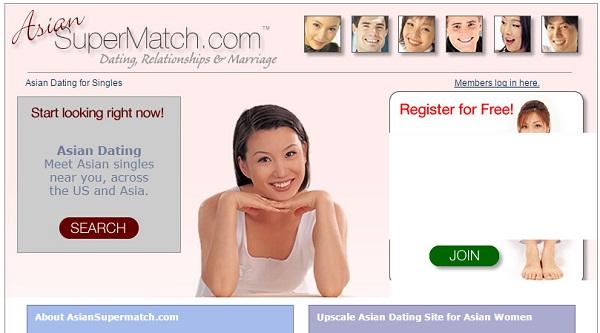 Сайт знакомств Asian Super Match