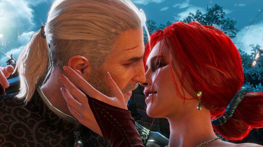 поцелуй в видеоигре