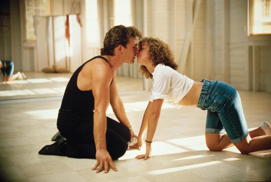 поцелуй грязные танцы