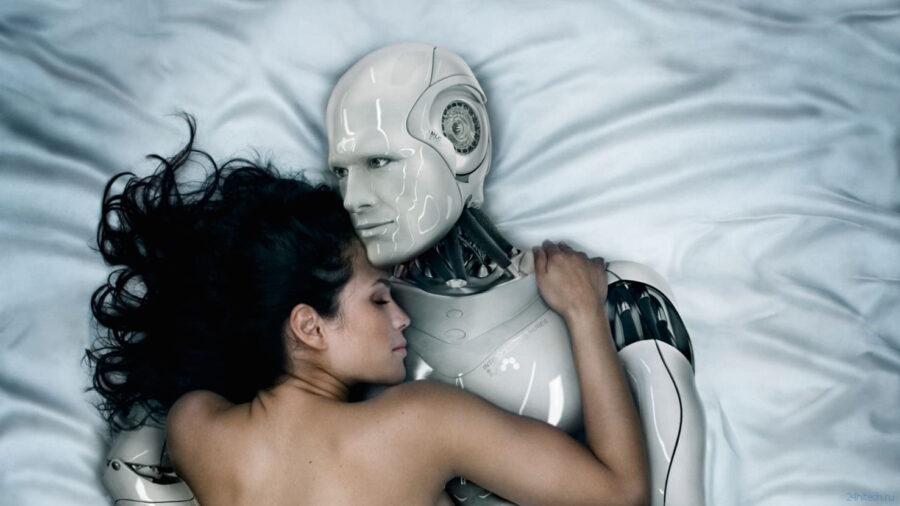 в постели с роботом 2