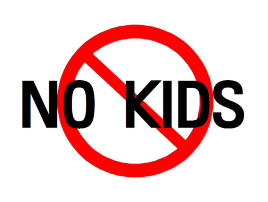 нет детей знак