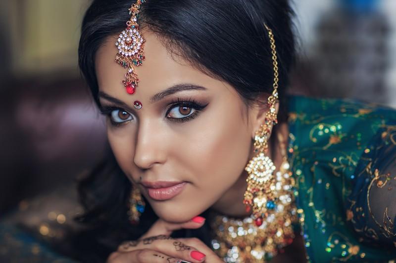 красивая индианка