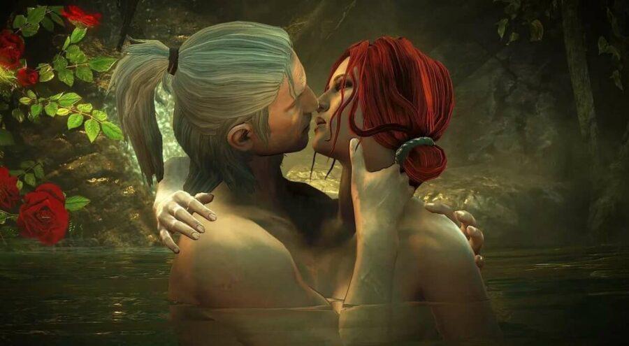 поцелуй в видеоигре 2