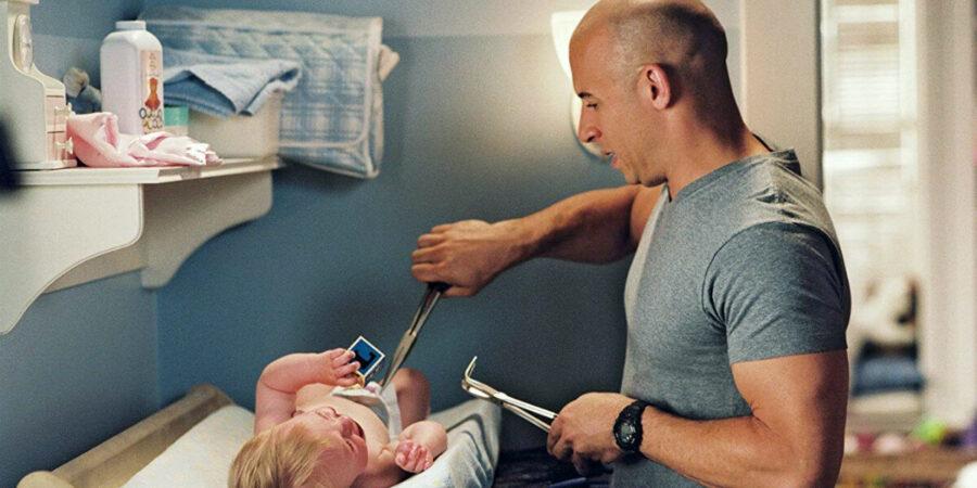 мужчина с ребенком кадры из фильма