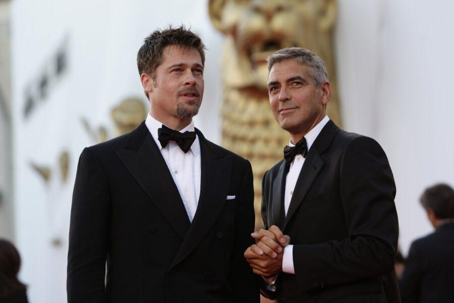 Бред Питт и Джорж Клуни