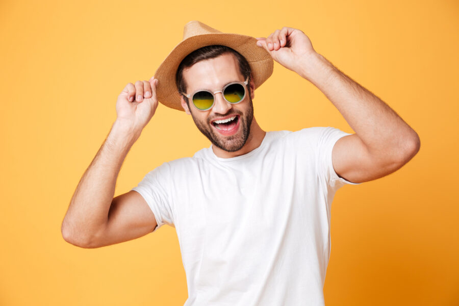парень в шляпе
