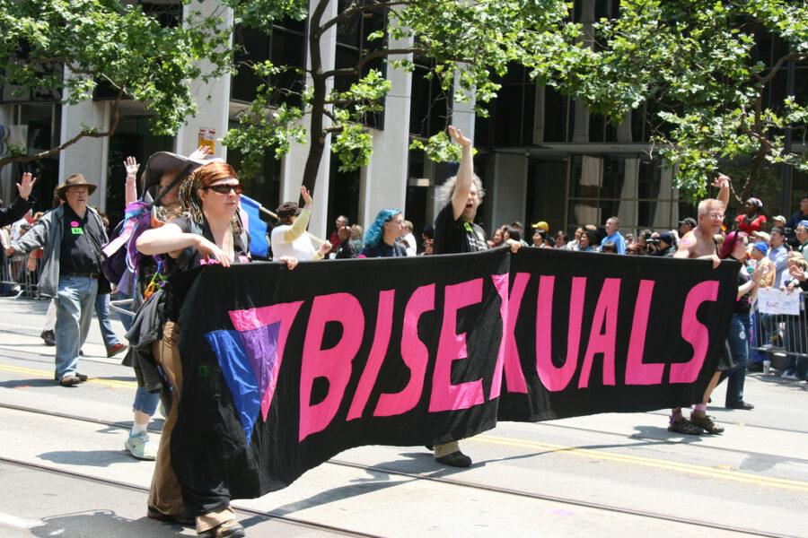 бисексуалы парад