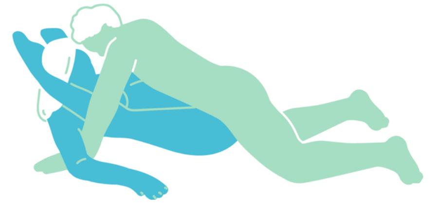 морская ракушка поза в сексе