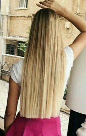 Девушки с длинными волосами со спины (72 ФОТО)