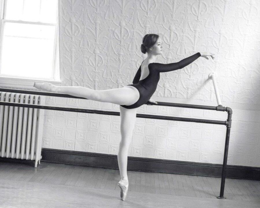 девушка балерина