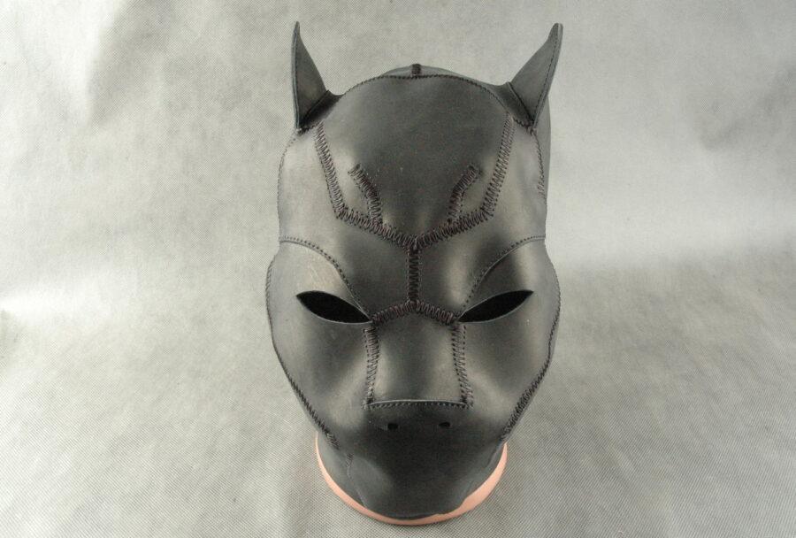 бдсм маска закрывающая лицо