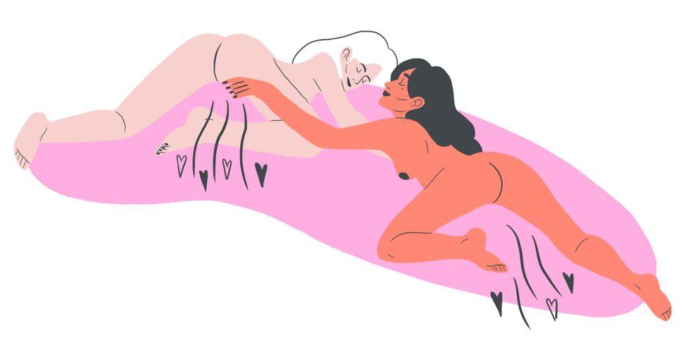Как занимаются сексом лесбиянки или оргазм за оргазмом