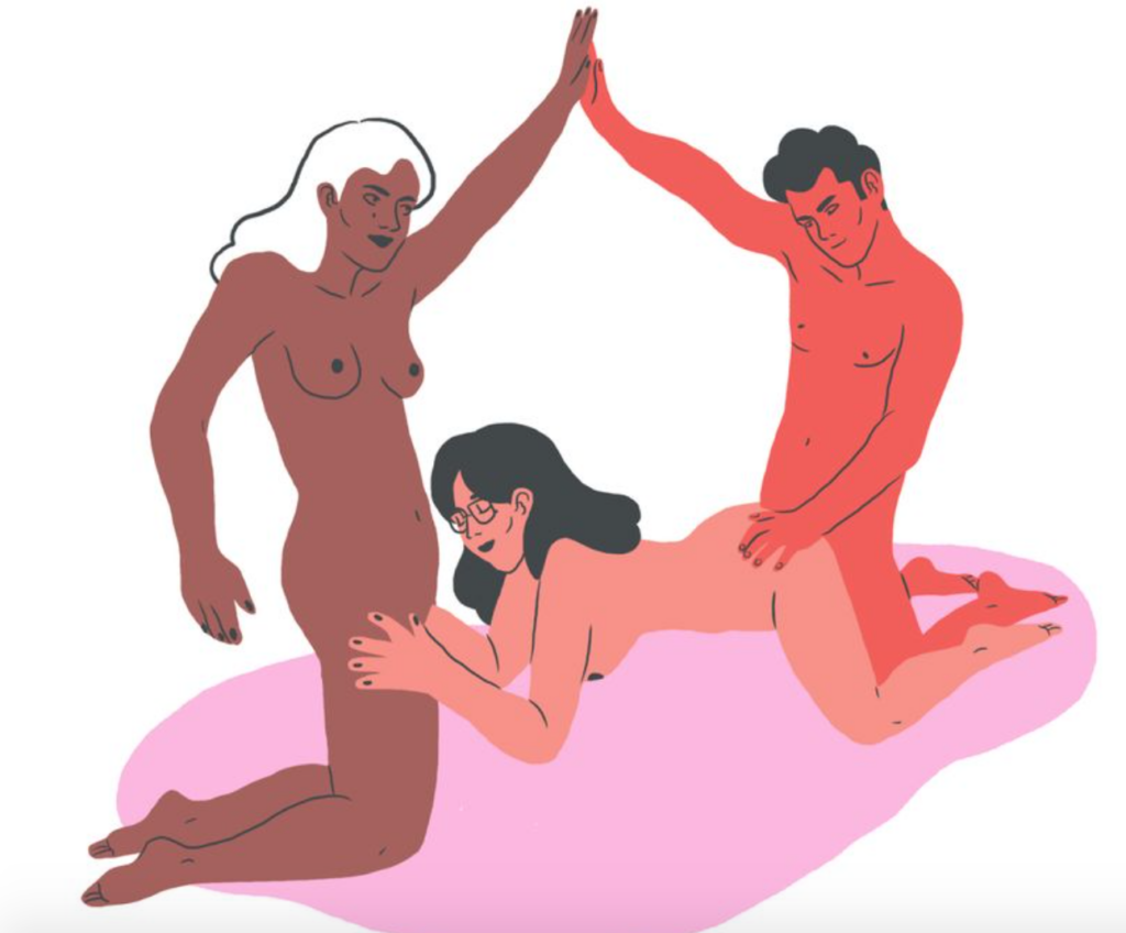 секс поза эйфелева башня
