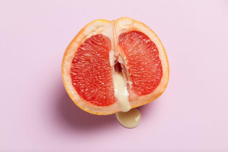 грейпфрут со сливками