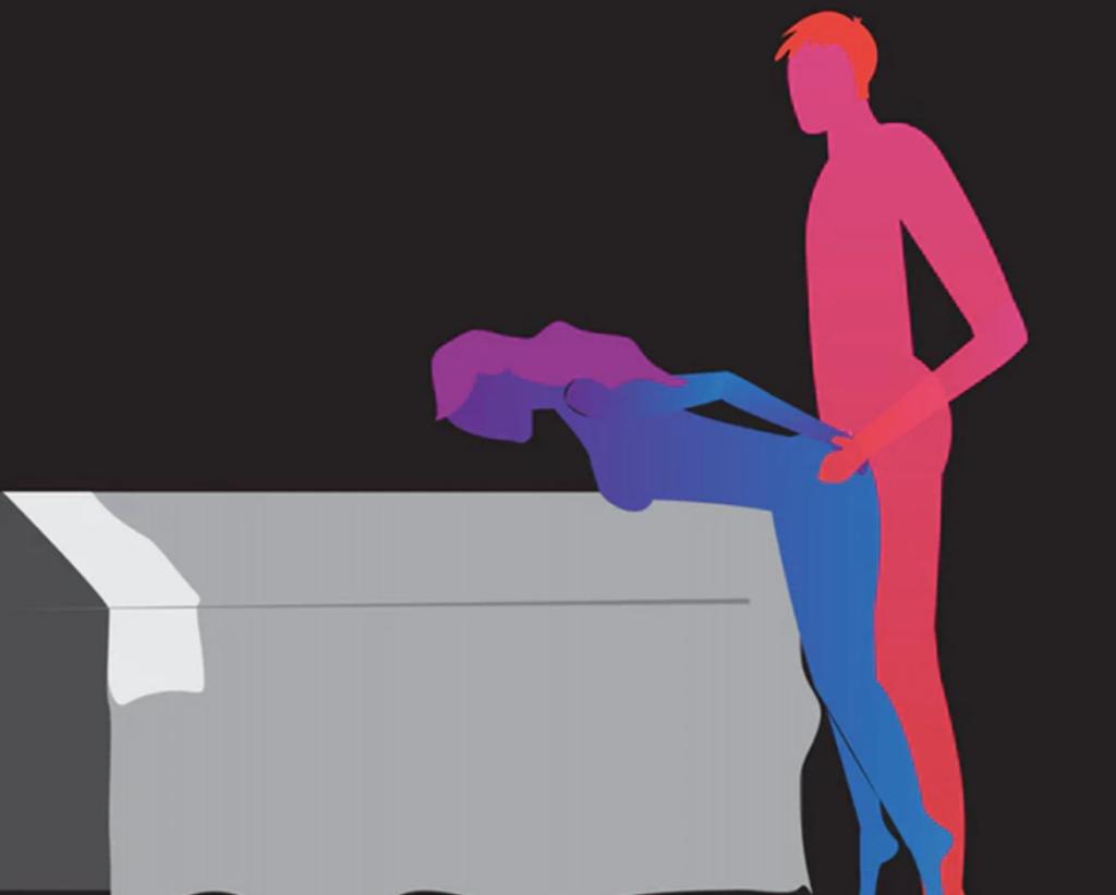 Позы для секса стоя: ТОП - 7 лучших вариантов