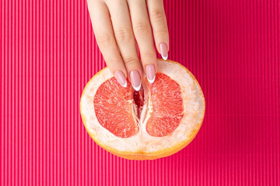 пальчики с грейпфруте