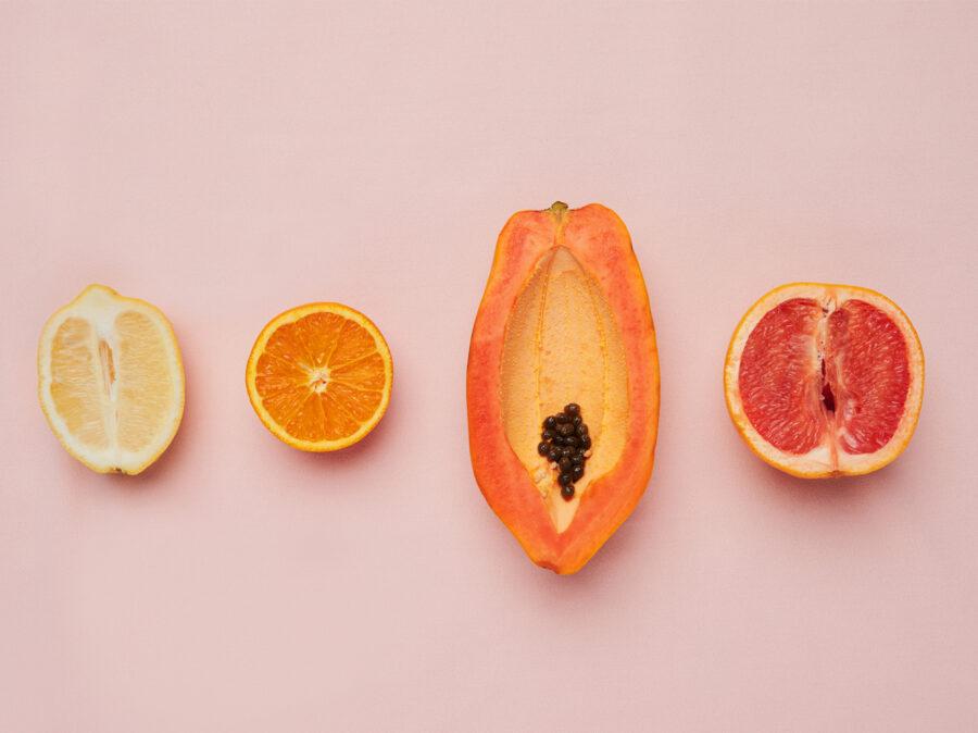 фрукты похожие на вагину
