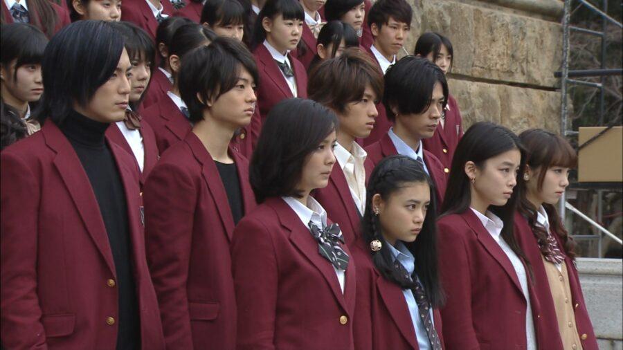 «Лестницы школы» (2015, Япония)