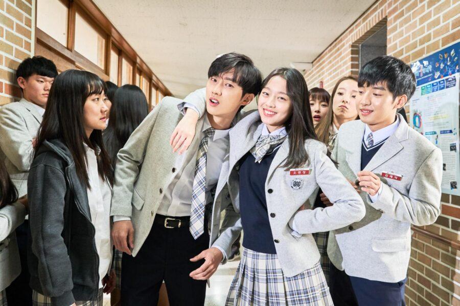 кадр из корейского фильма