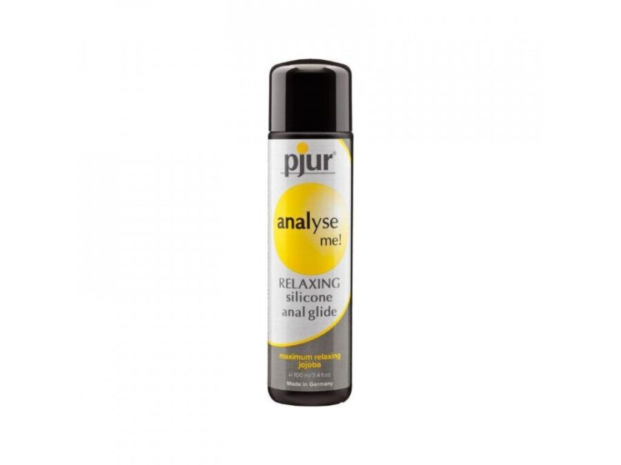 Anal glide silicone lubricant