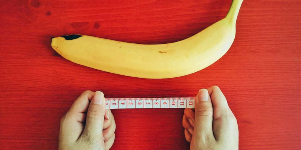 замеры банана