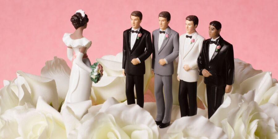 невеста и четыре жениха