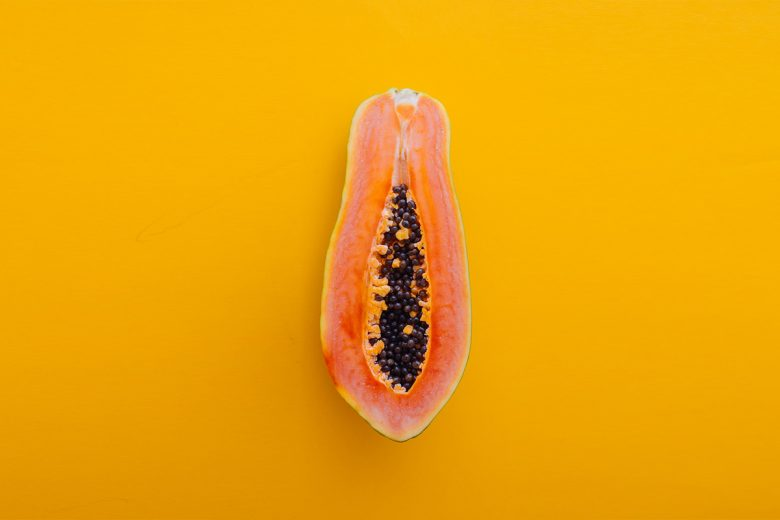 фрукт в разрезе