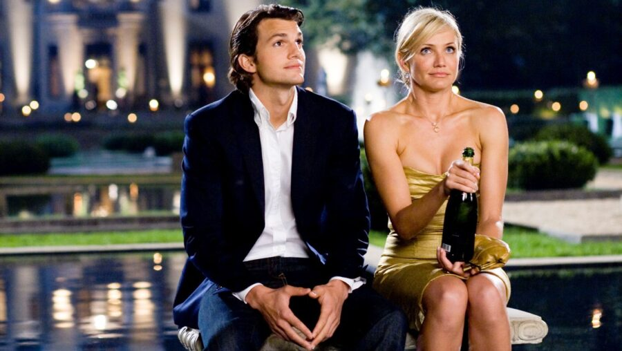 свидание на улице с шампанским