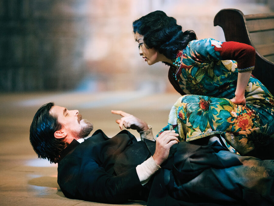 кадр из фильма «Цветы войны» (2011, Китай, Гонконг)