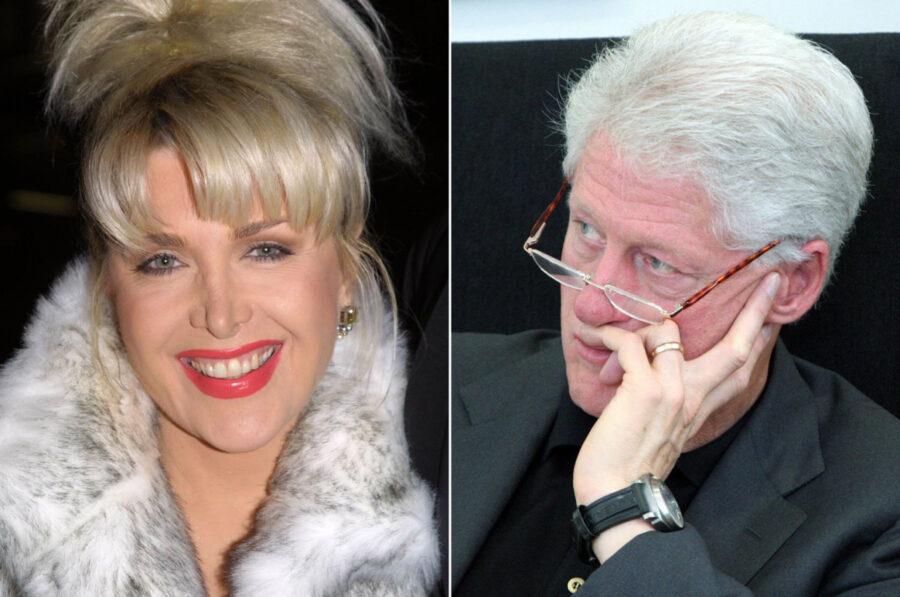 Дженнифер Флауэрс и Билл Клинтон