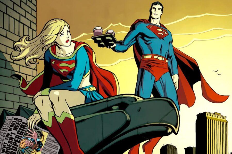 арт супермен и супервумен