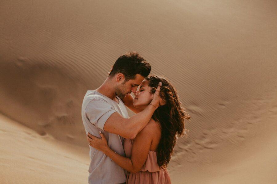 поцелуй в пустыне