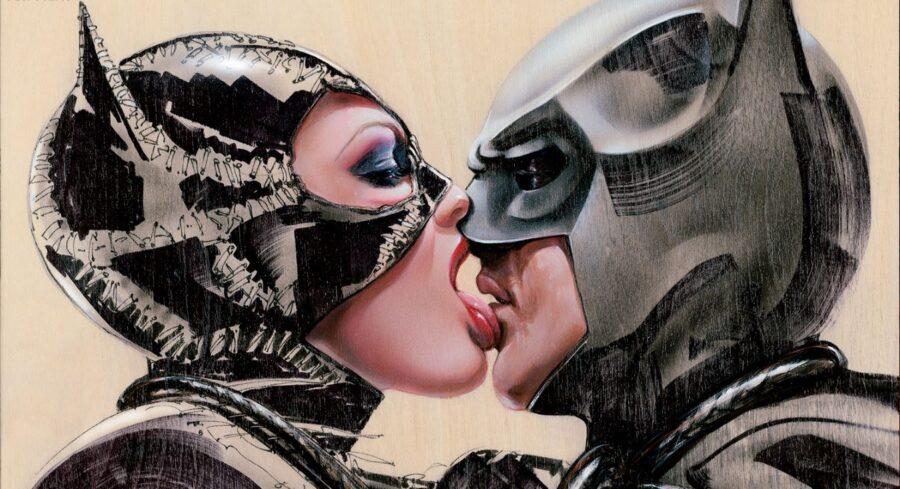 поцелуй супергероев