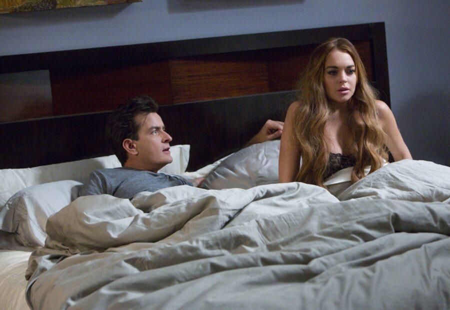 парень и девушка в постели
