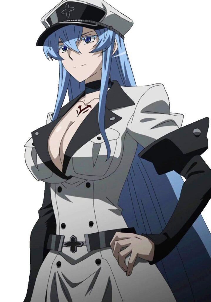 Аниме девушки с голубыми волосами - красотки тян