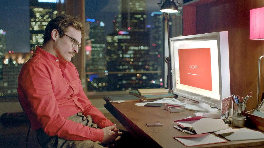 парень за компьютером