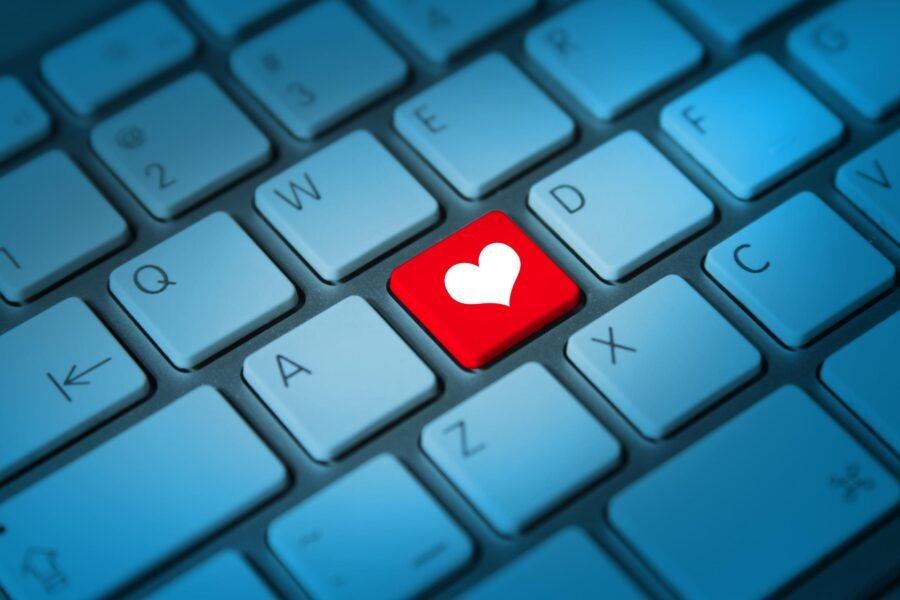 клавиша сердечко на клавиатуре