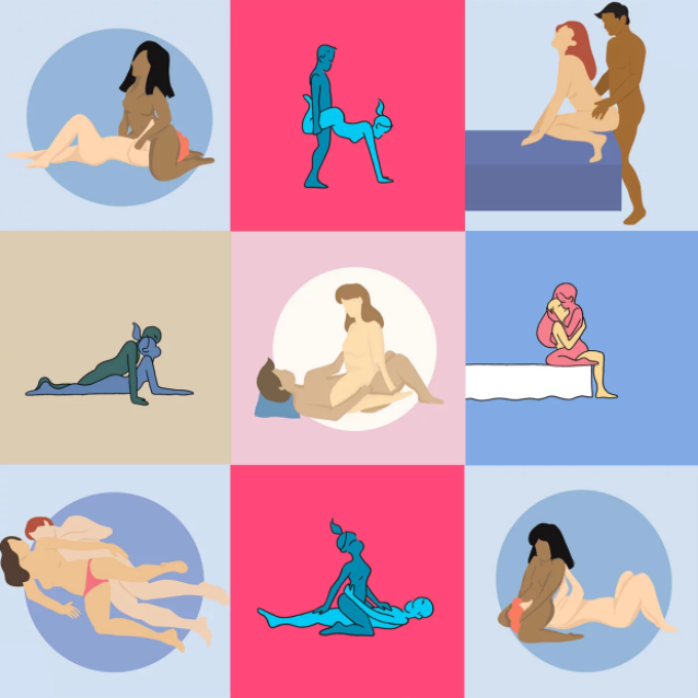 позы в сексе в картинках