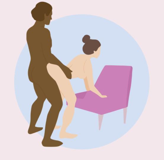 Doggy-Style или коленно-локтевая позиция на стуле