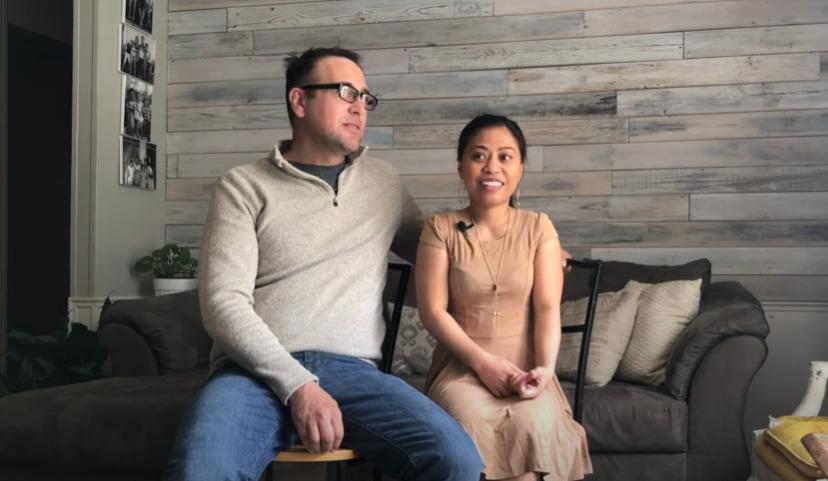 Нанетт Килмер с мужем