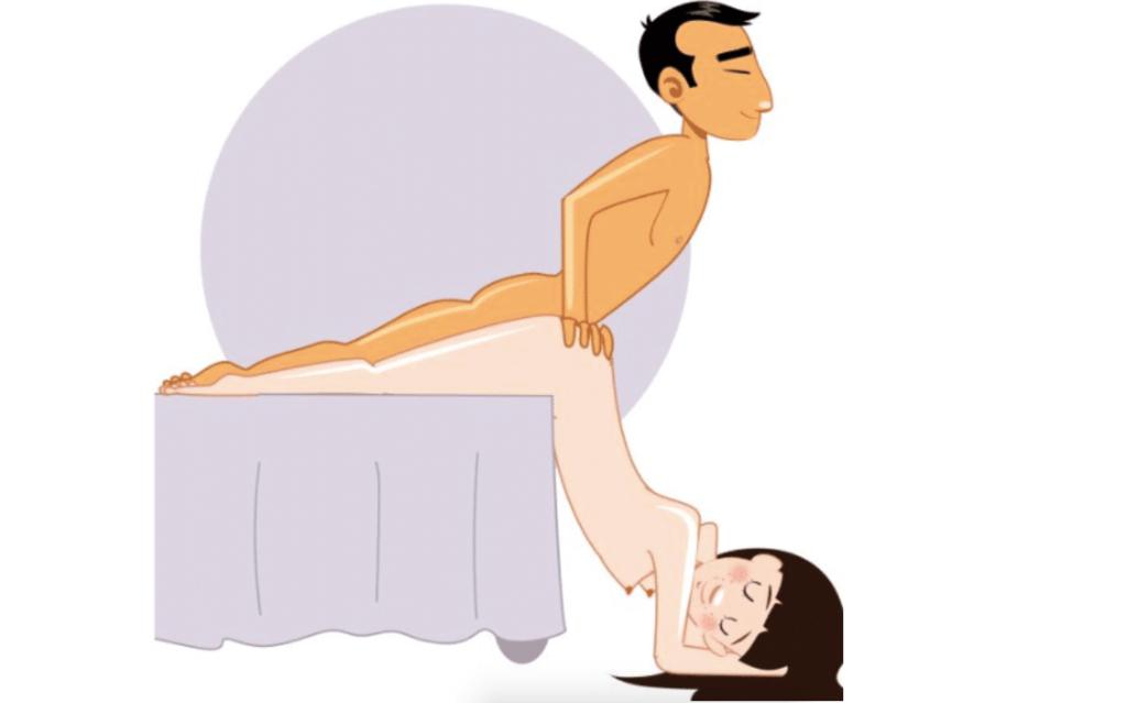 7 ярких секс-поз, где девушка лежит на животе