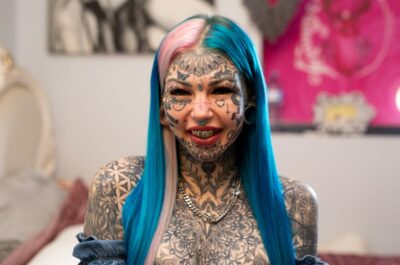 «Я сделала 600 татуировок и потратила 70 000 долларов»